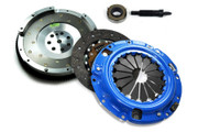 FX Stage 1 Clutch Kit and Fidanza Flywheel Eclipse Talon Laser Fwd 2.0L Turbo 7-Bolt