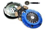FX Stage 3 Clutch Kit and Fidanza Flywheel Eclipse Talon Laser Fwd 2.0L Turbo 7-Bolt