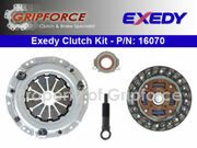 Exedy OE Clutch Kit Nova Geo Prizm Toyota Corolla 4Alc 1.6L Tercel 3Ee 5Efe 1.5L