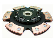 FX Racing Stage 3 Sprung 6-Puck Clutch Disc 93-98 Toyota Supra 3.0L Turbo 2JZGTE