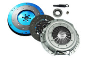 FX Racing OE Clutch Kit and Racing Aluminum Flywheel 91-98 Nissan 240Sx 2.4L Ka24De