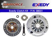 Exedy OEM Clutch Kit 96-1997 Honda Civic Delsol S Si Coupe 1.6L SOHC D16Y7 D16Y8