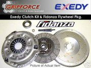 Exedy OEM Clutch Kit and Fidanza Flywheel 90-96 Nissan 300Zx 3.0L V6 Turbo Vg30Dett