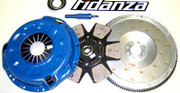 FX Stage 3 Clutch Kit and Fidanza Flywheel 90-96 Nissan 300Zx 3.0L V6 Turbo Vg30Dett