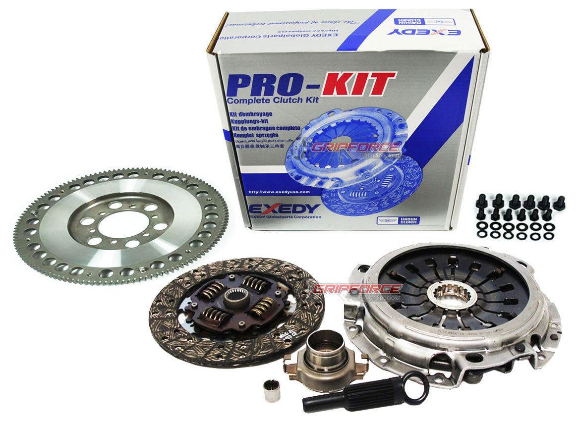 Exedy OEM Clutch Kit and FX Chromoly Flywheel 1993-1999 Mazda RX-7 Turbo  1 3L 13B Fd