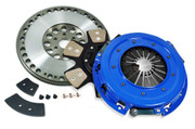 FX Racing Stage 3 Clutch Kit and Flywheel 86-95 Ford Mustang GT 5.0L 93-95 Cobra SVT