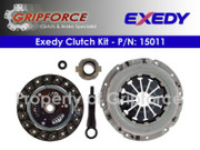 Exedy OEM Clutch Kit Set 12/01/1990-1994 Subaru Justy Dl Gl Hatchback 1.2L 3Cyl