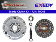 Exedy Genuine OEM Clutch Kit 1992-93 Mazda MX-3 Base 90-94 323 Base SE 1.6L SOHC
