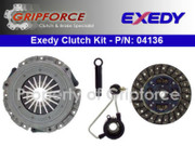 Exedy OEM Clutch Kit and Slave Cylinder 1993-94 Beretta Achieva Grand Am 2.3L Quad 4