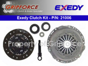 Exedy Genuine OEM Clutch Pro-Kit Set 1976-93 Saab 99 900 2.0L Turbo & Non-Turbo