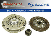Sachs OEM Clutch Kit 1988-93 BMW  535I E34 88-92 735I Equipped W/ Dmf E32 3.5L I6