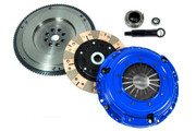 FX Dual-Friction Clutch Kit & HD Nodular Flywheel Set for 1992-1993 Acura Integra