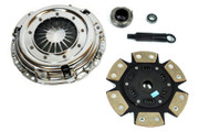 FX Racing Xtreme 6Puck Sprung Clutch Kit 1992-93 Acura Integra 1.7L 1.8L B17 B18