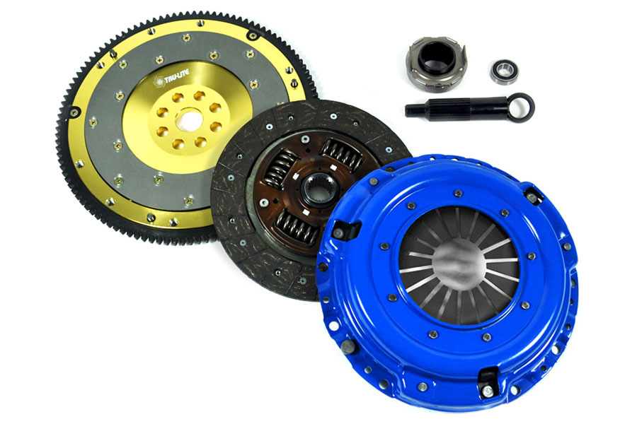 FX Stage 1 Clutch Kit And Aluminum Flywheel 92 93 Acura Integra
