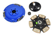 FX Racing Stage 3  6Puck Clutch Kit 84-92 VW Jetta 85-92 Golf 1.8L SOHC 8-Valve
