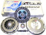 Exedy OEM Clutch Kit and Fidanza Flywheel Eclipse Talon Laser Fwd 2.0L Turbo 6-Bolt
