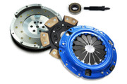 FX Stage 3 Clutch Kit and Fidanza Flywheel Eclipse Talon Laser Awd 2.0L Turbo 6-Bolt