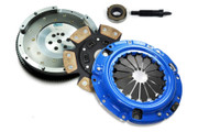 FX Stage 3 Clutch Kit and Fidanza Flywheel Eclipse Talon Laser Fwd 2.0L Turbo 6-Bolt