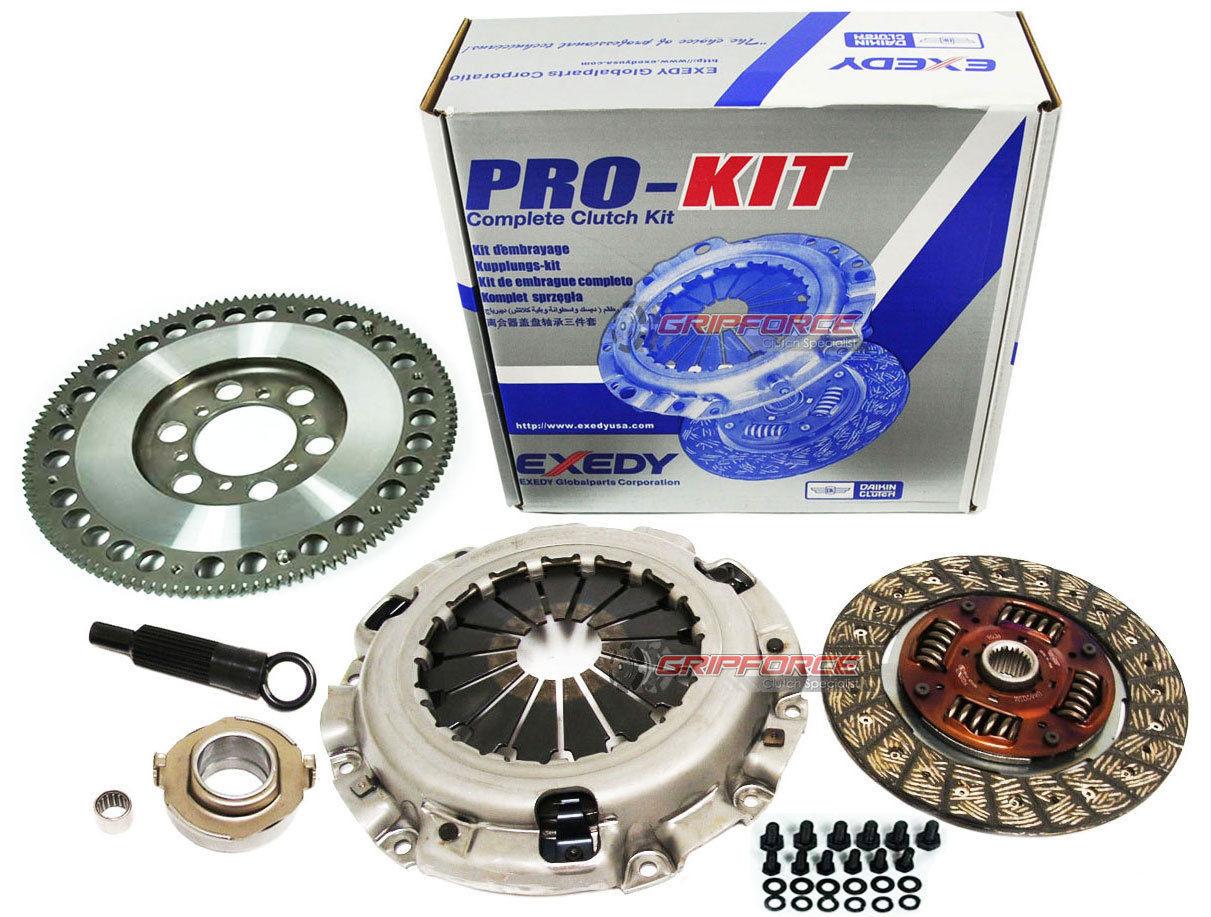 Exedy OE Clutch Kit and FX Racing Chromoly Flywheel 89-91 Mazda Rx7 Turbo  1 3L 13B Fc