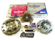 Exedy Racing Stage 2 Clutch Kit and Zf01 Flywheel 1986-91 Mazda RX-7 Turbo 13Bre Fc