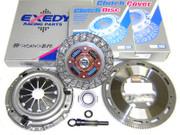Exedy OEM Clutch Kit and Exedy Racing Flywheel 89-91 Honda Civic CRX 1.5L 1.6L SOHC