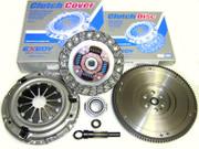 Exedy OEM Clutch Kit and Flywheel Set 1989-91 Honda Civic CRX 1.5L 1.6L D15 D16 SOHC