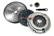Gripforce Premium Clutch Kit & HD Nodular Flywheel Set fits 1989-1991 Honda Civic / CRX 1.5L 1.6L SOHC D15 D16