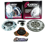 Exedy Racing Stage 2 Thick Ceramic Clutch Kit and Flywheel 90-91 Acura Integra 1.8L