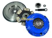 FX Stage 4 Rigid Clutch Kit & HD Nodular Flywheel Set for 1990-1991 Acura Integra