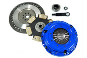 FX Stage 4 Clutch Kit and 9.75Lbs Chromoly Flywheel 1990-1991 Acura Integra 1.8L B18