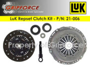 LuK Genuine OE OEM Organic Repset Clutch Kit 1976-1989 Saab 99 900 Turbo 2.0L I4