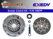 Exedy OE OEM Clutch Kit 1987-1989 Geo Chevrolet Spectrum Isuzu I-Mark 1.5L Turbo
