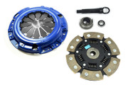 FX Racing Stage 3 Ceramic Clutch Kit 1984-1987 Honda Civic CRX 1.3L 1.5L I4 SOHC