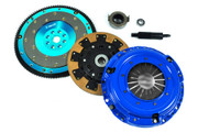 FX Racing Kevlar Clutch Kit and Aluminum Flywheel JDM 93-95 Civic 1.6L B16 DOHC VTEC