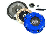 FX Racing Multi-Friction Clutch Kit and 9.75Lbs Flywheel JDM 93 94 95 Civic 1.6L B16