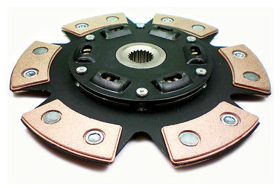 FX Racing Stage 3 Ceramic 6-Puck Sprung Clutch Disc JDM Toyota 2 0L 3Sge  Engine