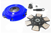 "FX Racing Stage 3 Clutch Kit Chevrolet Oldsmobile Pontiac 10.4"" 10 Spline Disc"