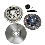 FX Clutch Kit & HD Cast Flywheel 93-9/21/95 Dodge Dakota Pickup Truck 2.5L SOHC