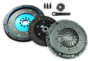 FX HD Clutch Kit & Aluminum Flywheel VW Golf GTI Jetta Glx Passat Corrado 2.8L VR6