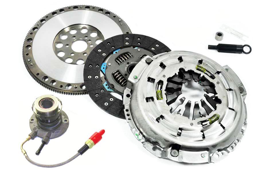 FX HD Clutch Kit & Slave & Forged Light Race Flywheel 97-04 Corvette 5 7  LS1 Z06 LS6