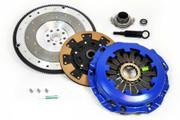 FX Kevlar Clutch Kit & Fidanza Flywheel 9-2X Aero WRX Baja Forester Legacy Turbo