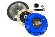 FX Multi-Friction Clutch Kit & 9.75Lbs Race Flywheel 90-91 Acura Integra 1.8L B18