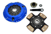 FX Racing 4-Puck Stage 3 Ceramic Clutch Kit 2001-2005 Honda Civic Dx Lx Ex 1.7L