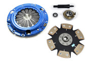 FX Racing Stage 4 Clutch Kit 92-95 Mazda Mx3 1.8L V6 90-91 Protege 4WD 1.8L 4Cyl