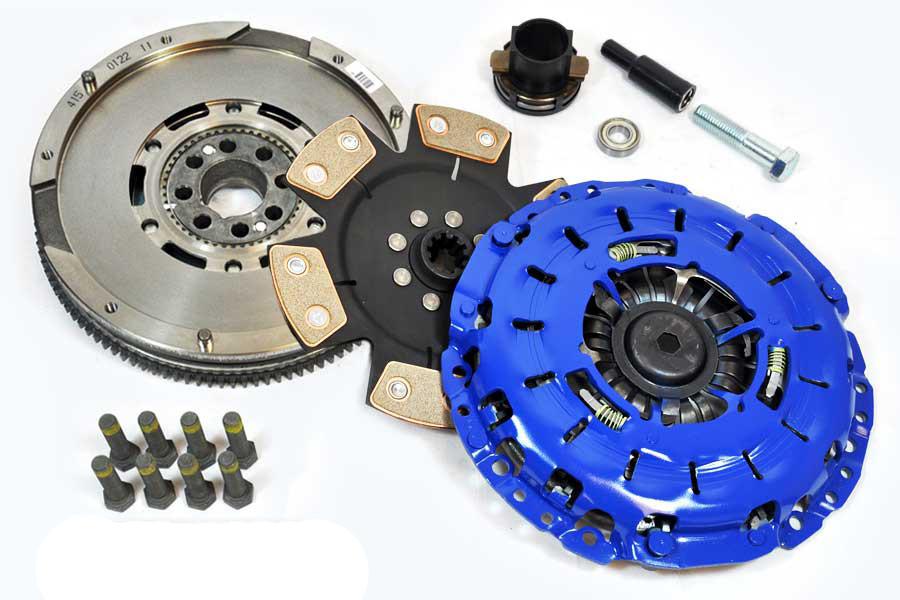 FX Racing Stage 4 Clutch Kit & Luk Flywheel Set BMW 323 325 328 330 525 528  530 Z3