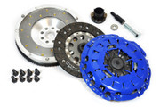FX Stage 1 Clutch Kit & Fidanza Flywheel 1999-00 BMW 328I E46 528I E39 Z3 2.8L M52