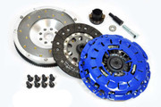FX Stage 1 Clutch Kit & Fidanza Flywheel 99-03 BMW 323 325 328 330 525 528 530 Z3