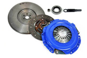 FX Stage 1 Clutch Kit & HD Flywheel 89-91 Isuzu Trooper LS S SE XS Suv 2.8L 6Cyl