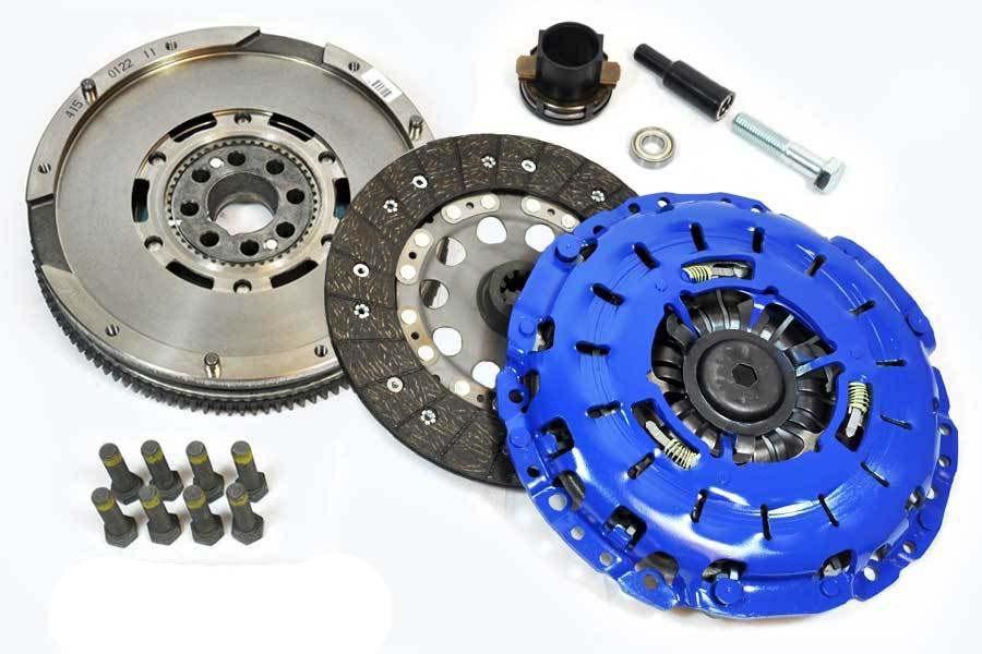 FX Stage 1 Clutch Kit & Luk DMF Flywheel 99-03 BMW 323 325 328 330 525 528  530 Z3
