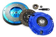 FX Stage 2 Clutch Kit & Aluminum Flywheel 9-2X Baja Forester Impreza Legacy 2.5L